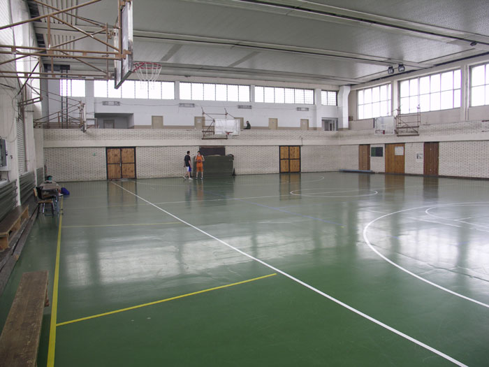 Зала по баскетбол